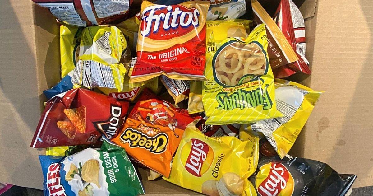 box of frito chips