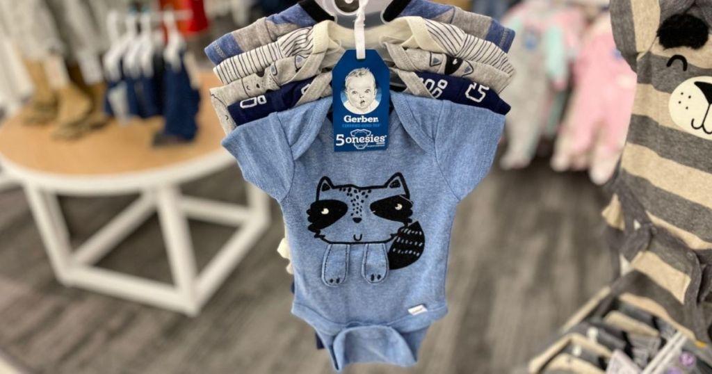 Gerber baby boy onesies