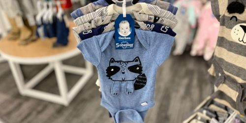 Up to 75% Off Gerber Baby & Toddler Apparel | Girls Tops from $2.70, Onesies from $3 & More