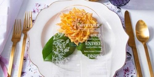 Godinger Dinnerware Sets from $24.49 on Macy's (Regularly $100)