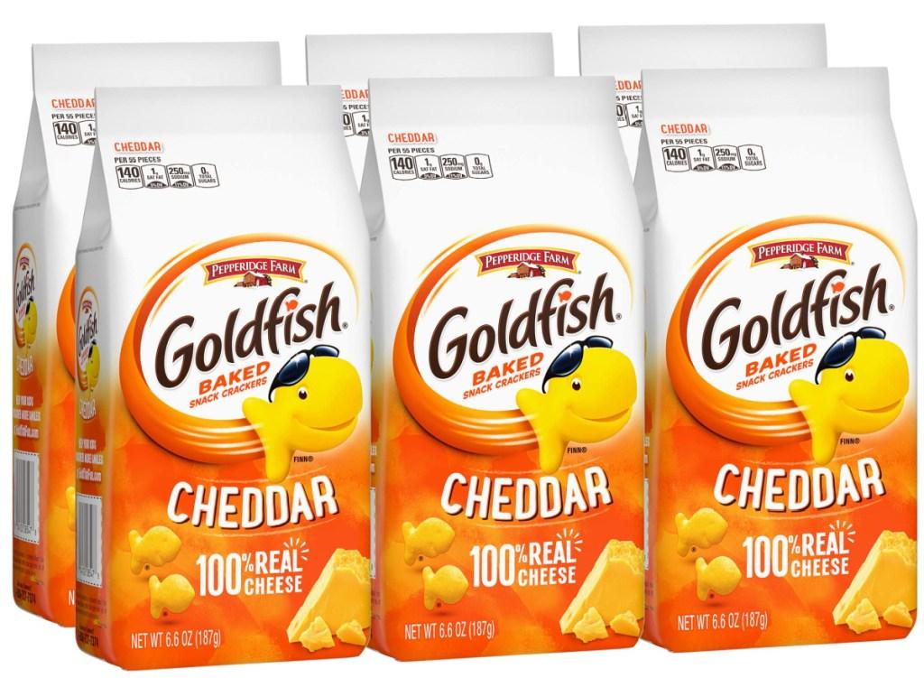 goldfish cheddar bags