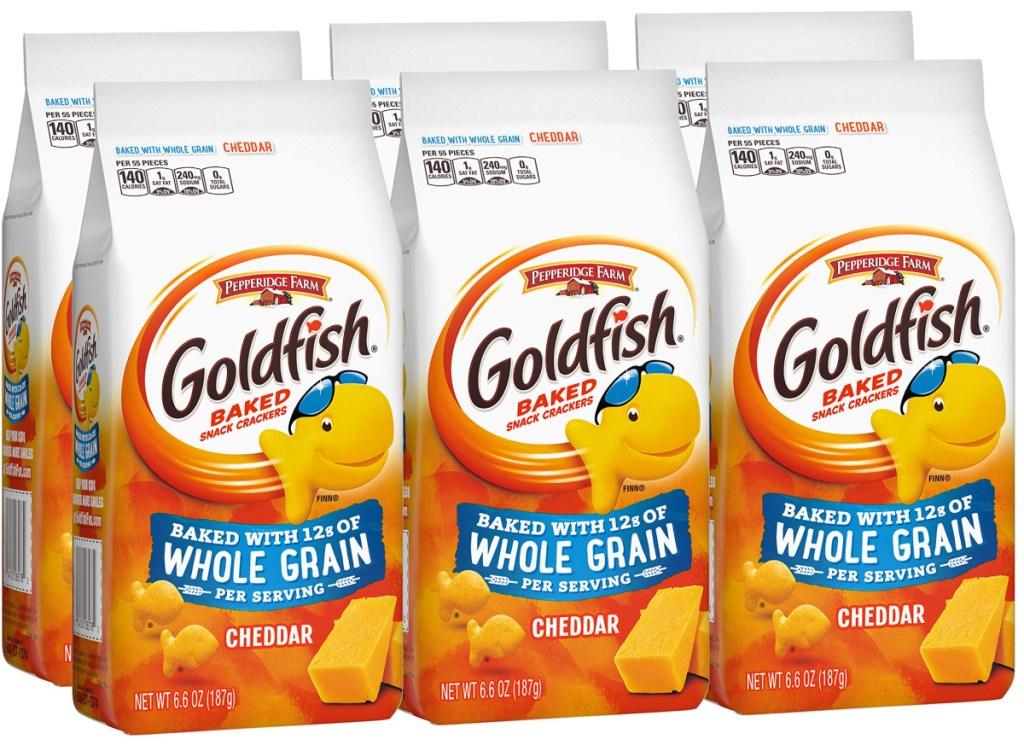 goldfish whole grain bags