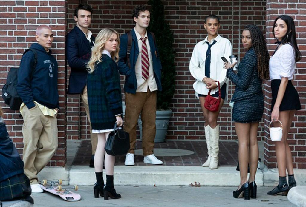 gossip girl 2021 cast photo