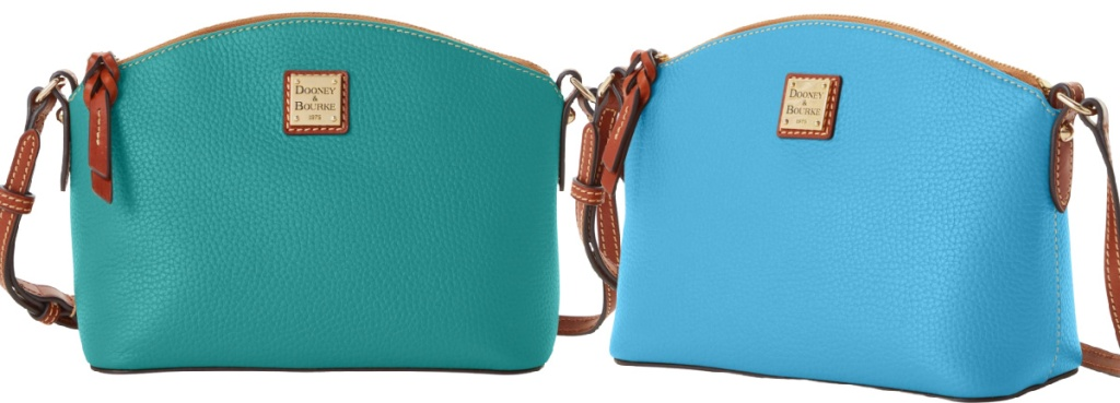 green and blue cross body