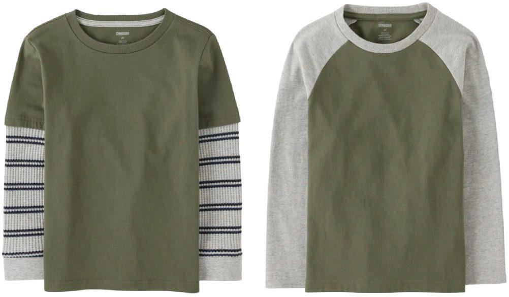 gymboree green shirts