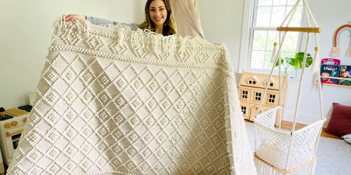 Score This Dreamy & Neutral Boho Rug for 60% OFF Today!