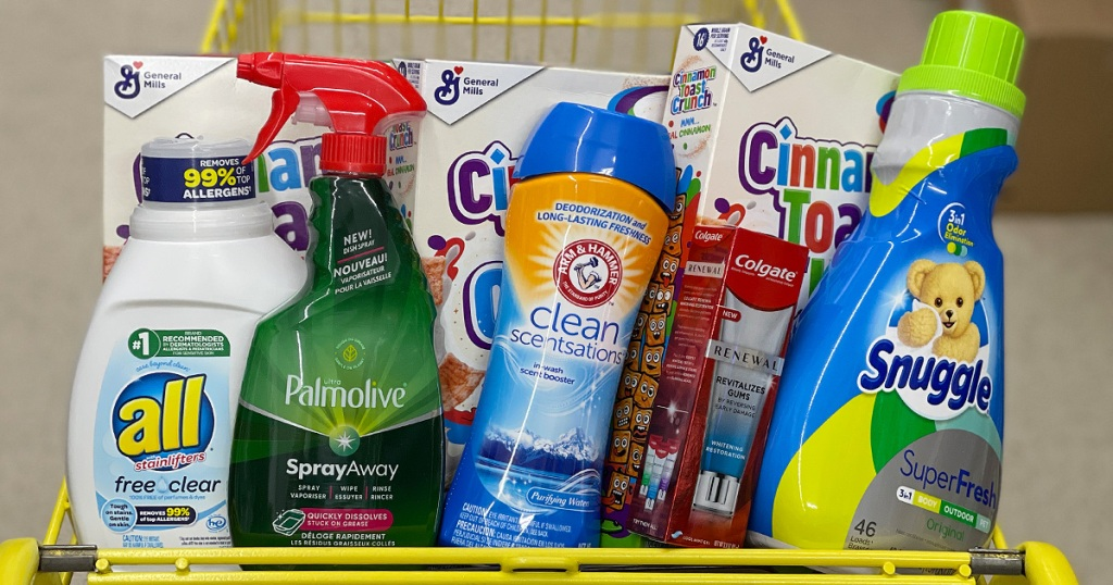 home products in dollar general cart