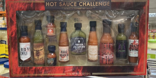 Turn up the Heat This Summer With Costco's Gourmet Hot Sauce Challenge