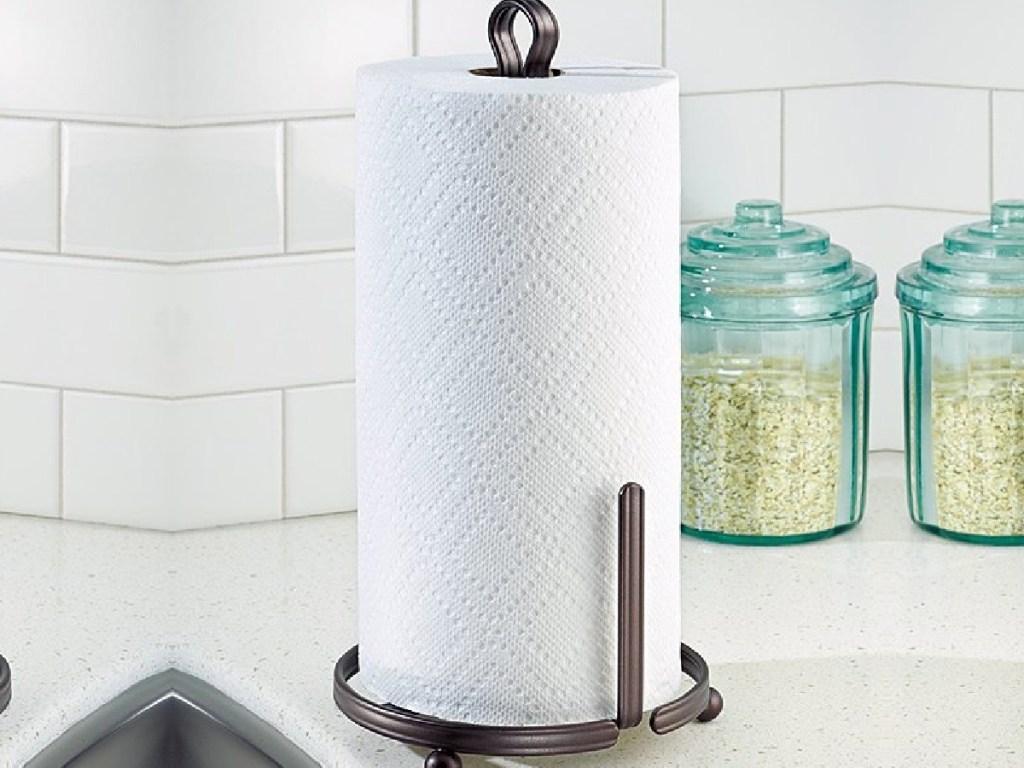 idesign paper towel holder