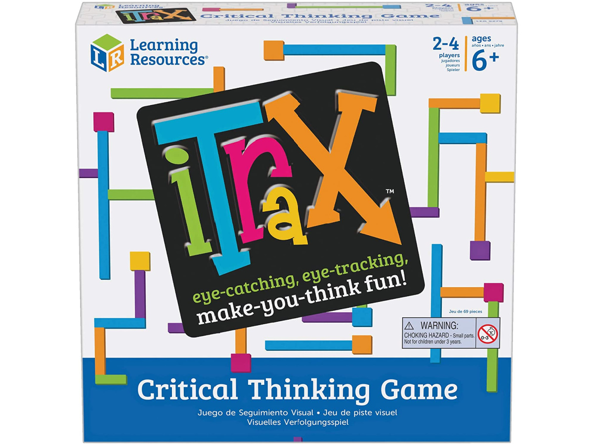 iTrax Critical Thinking Game box