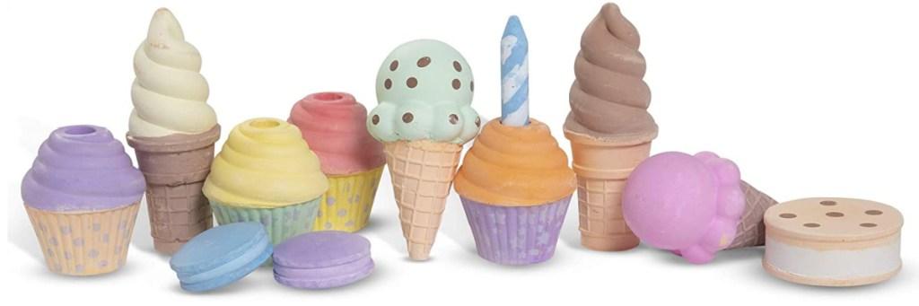 melissa & doug ice cream chalk