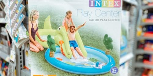 Intex Inflatable Kids Pool w/ Gator Water Slide & Sprayer Just $32.88 on Walmart.com (Regularly $50)