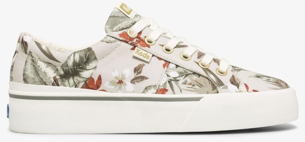 floarl keds sneakers