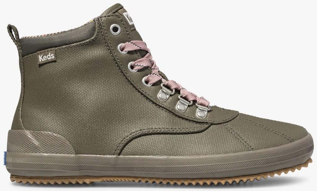 green Keds boots