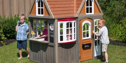 KidKraft Cottage Playhouse Only $474.94 Shipped on Zulily (Regularly $650)   Today Only
