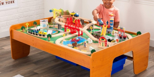 KidKraft Train Table w/ 100+ Accessories Only $105.90 Shipped from Walmart.com (Regularly $170)