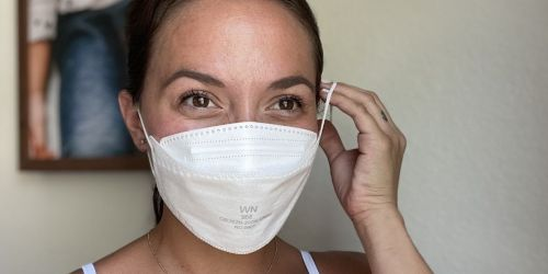 KN95 Face Mask 50-Pack Only $5.89 Shipped on Amazon | Just 12¢ Each!