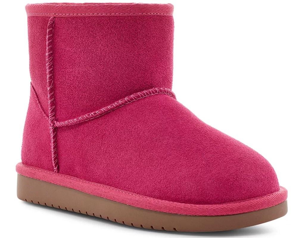 Koolaburra pink girls' boot
