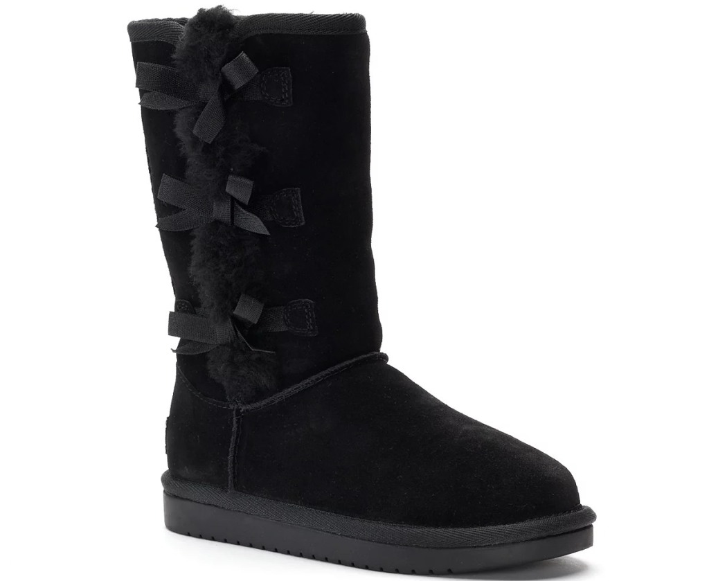 tall black Ugg boot