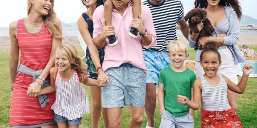 Lands' End Apparel for the Family from $4.49 | Tees, Swimwear, Dresses, & More