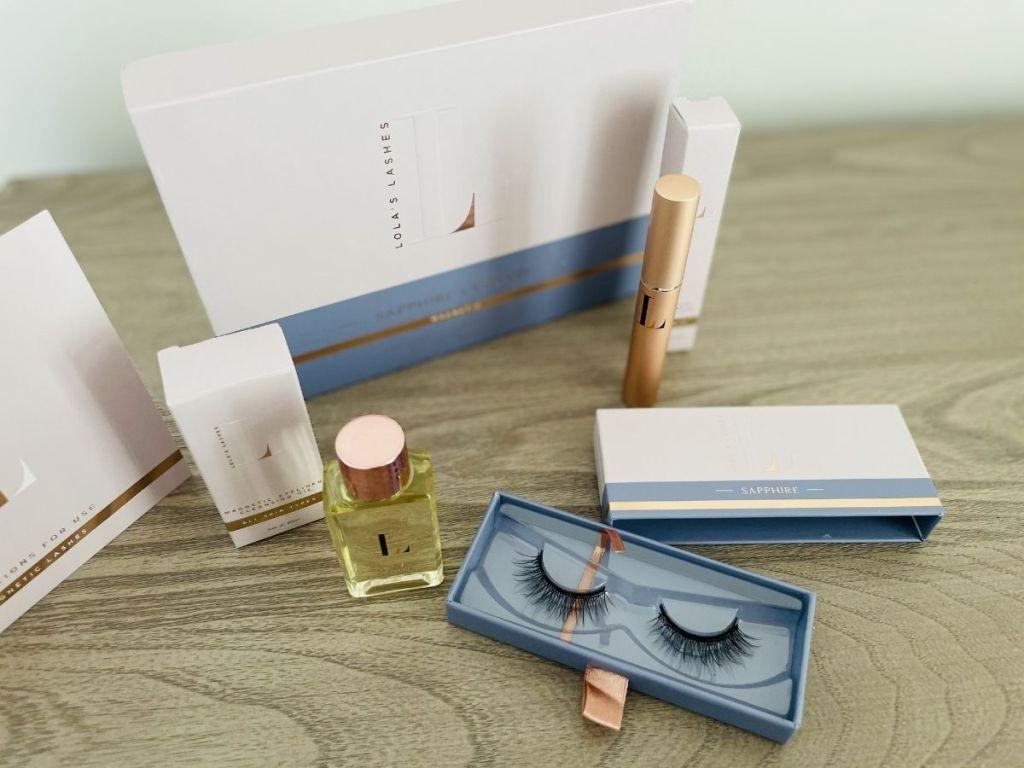 magnetic eyelash and liner kit