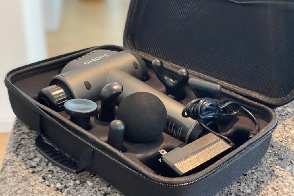 massage gun in case