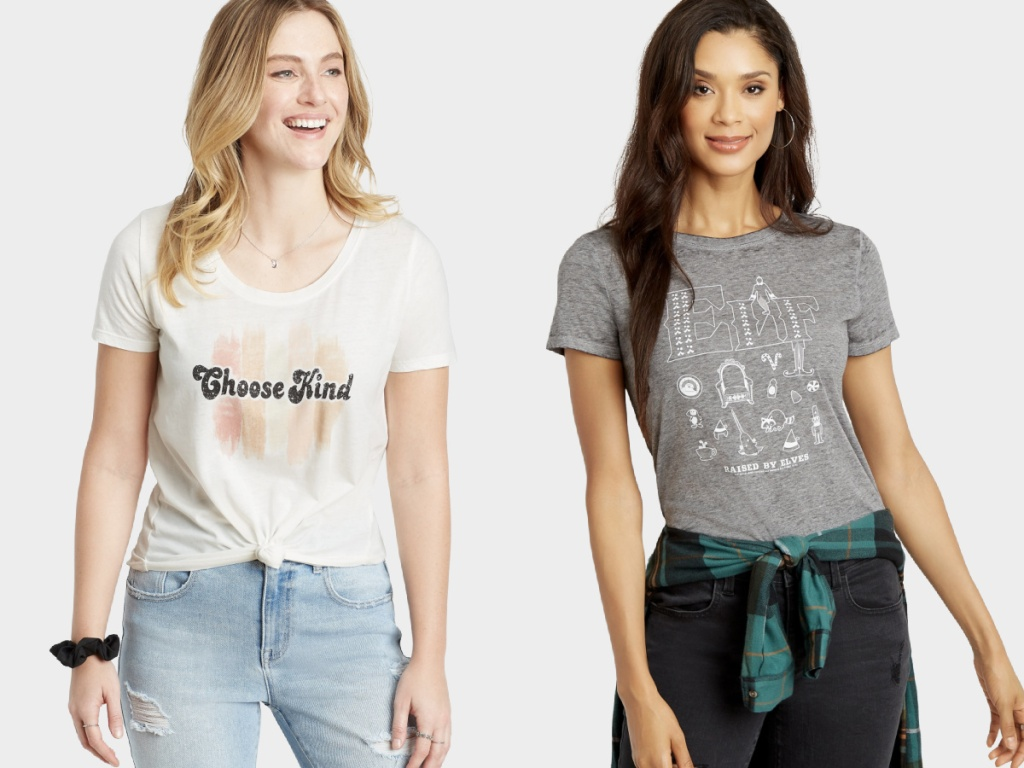 maurices womens graphic tees