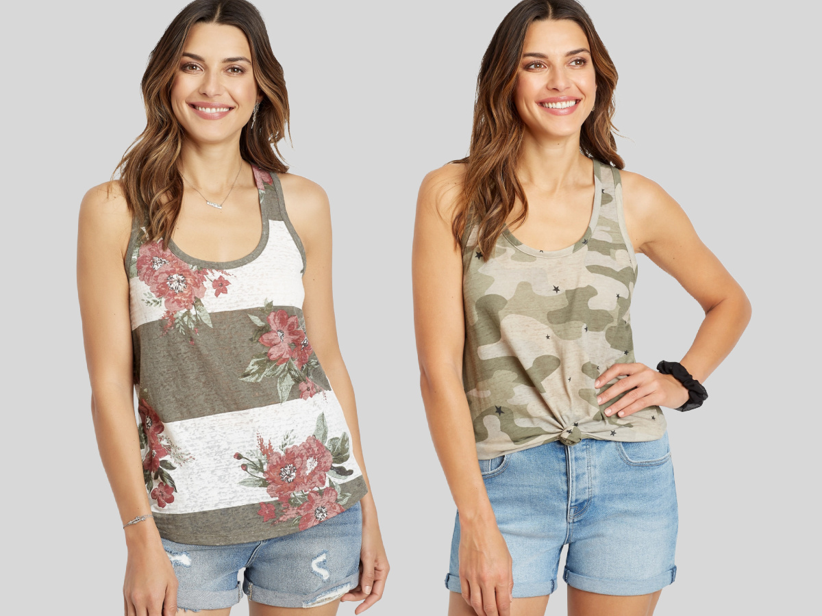 maurices women's tank tops