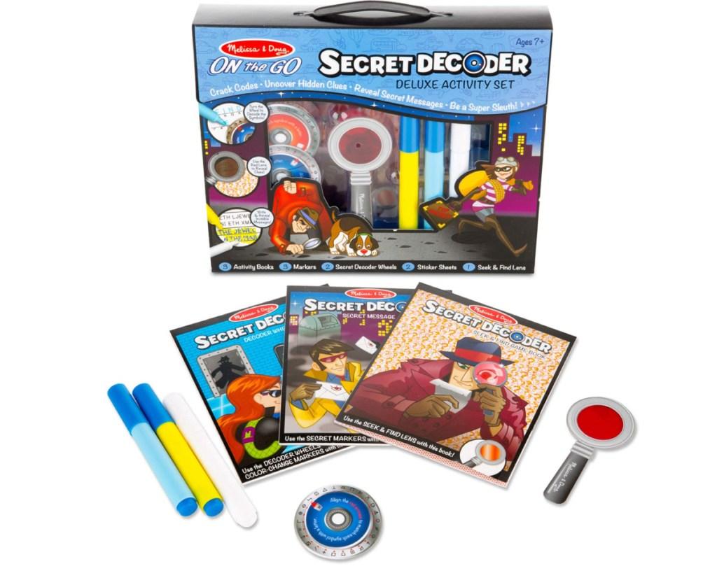 melissa & doug secret decoder set