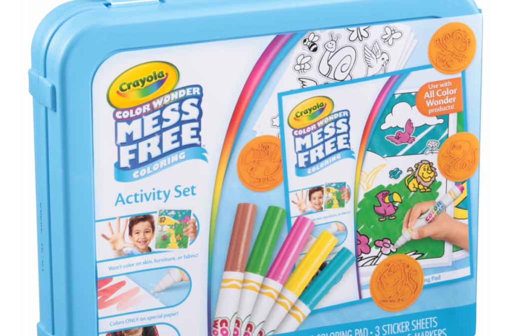 mess free crayola markers