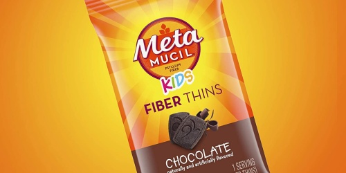 Metamucil Kids Fiber Thins 12-Count Box Just $3.29 Each After CVS Rewards (Regularly $9)