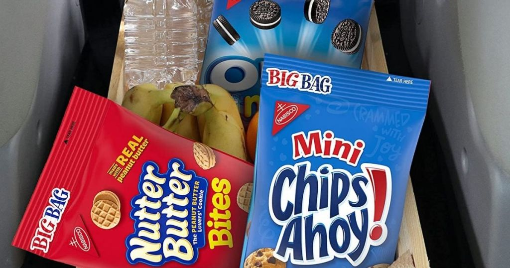 Nutter Butter and mini chips ahoy bags