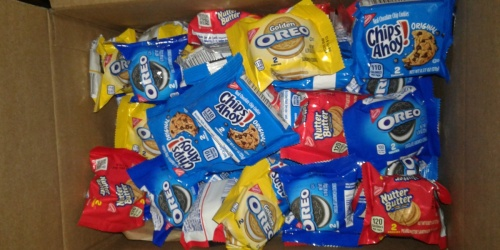 Nabisco Cookies 56-Count Variety Snack Packs Only $10 Shipped on Amazon | Just 18¢ Per Pack