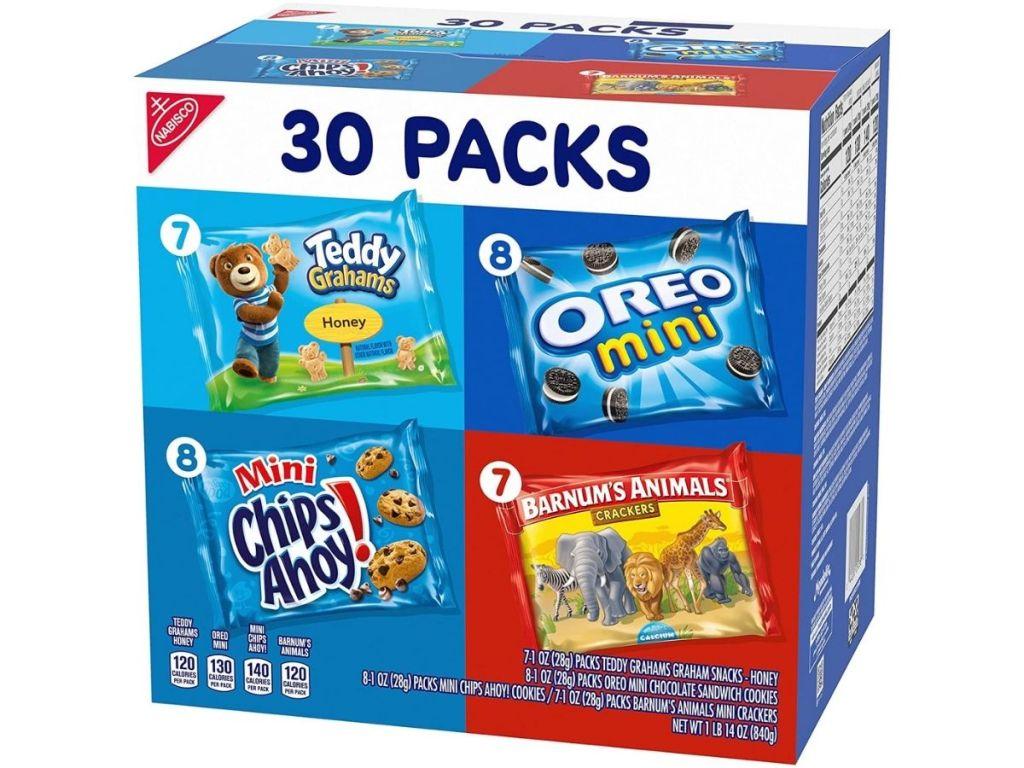 Nabisco minis 30-pack box