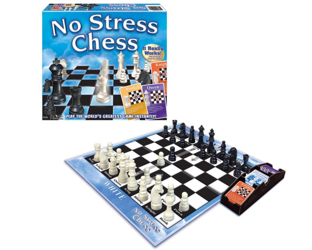 no stress chess w/ box