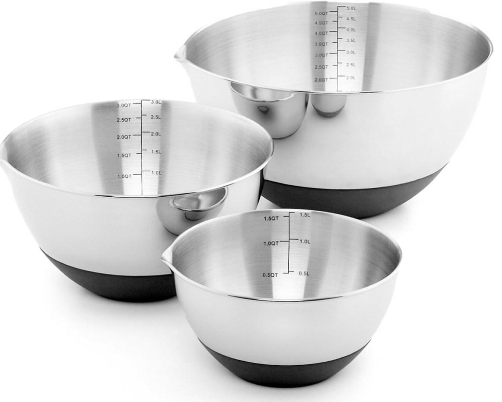 non-skid mixing bowls