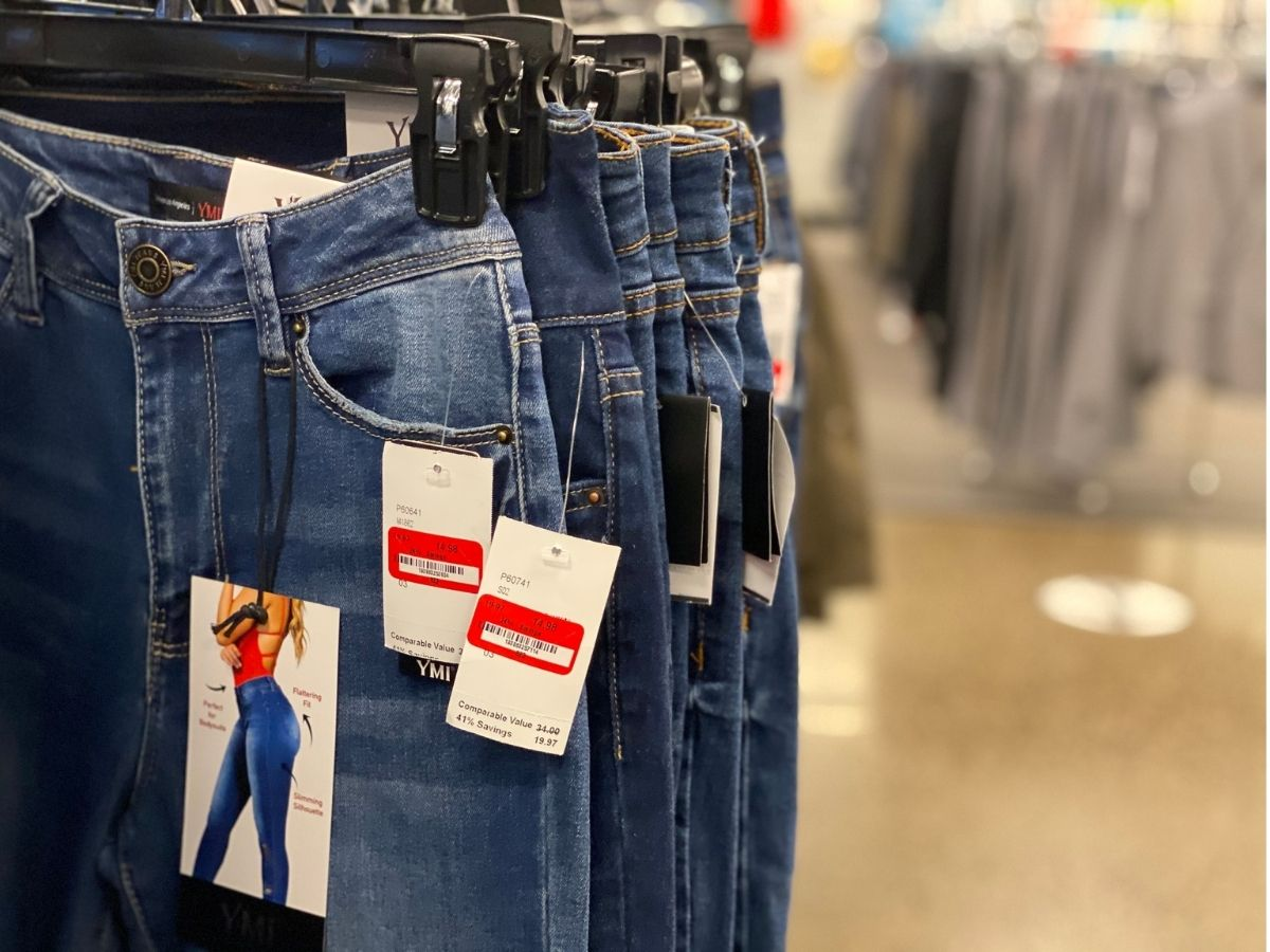 jeans on clearance