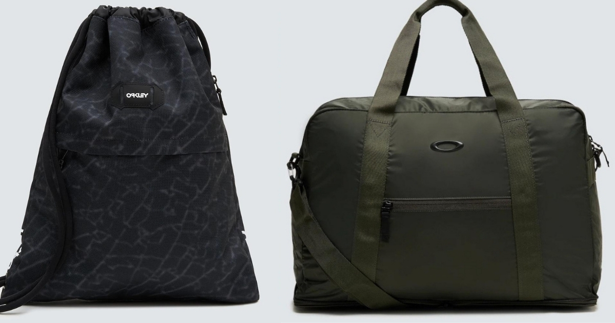 oakley bags black and green