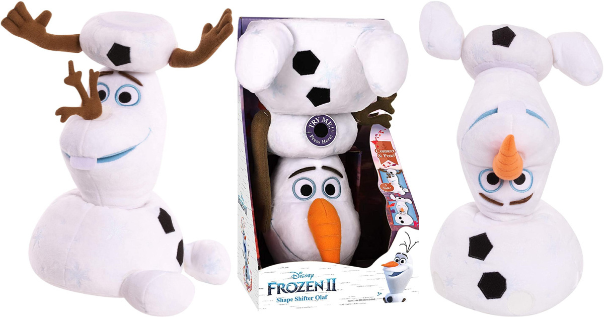 three plush snowman in different poses