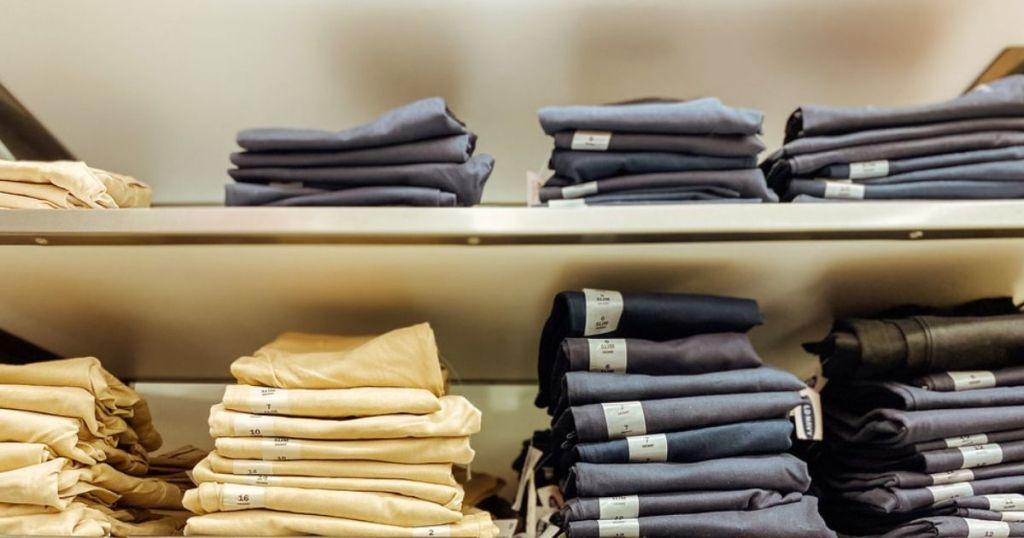 khaki boys old navy pants in store