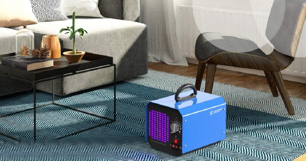 ozone generator in room