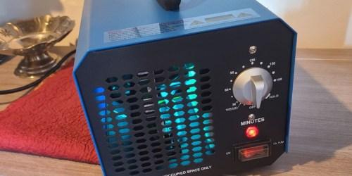 Ozone Generator & Air Purifier Only $79 Shipped on Amazon | Sterilizes Surfaces & Eliminates Odors