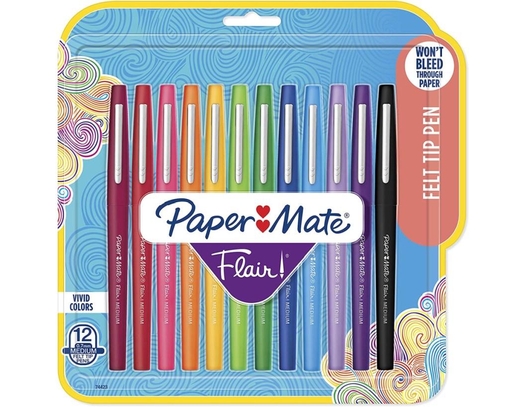 paper mate felt tip pens