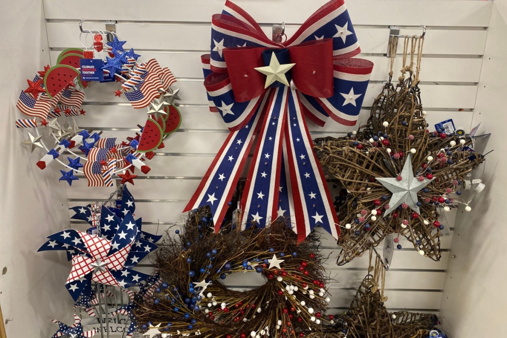 patriotic bow and wreath at kohls