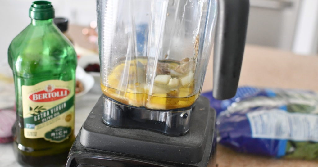 pear salad dressing in a blender