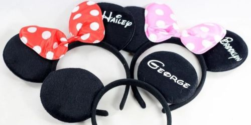 Personalized Mouse Ears Only $9.99 Shipped (Regularly $22)