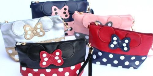 Disney Minnie Mouse Inspired Cosmetic Bags Just $9.99 Shipped (Regularly $20)
