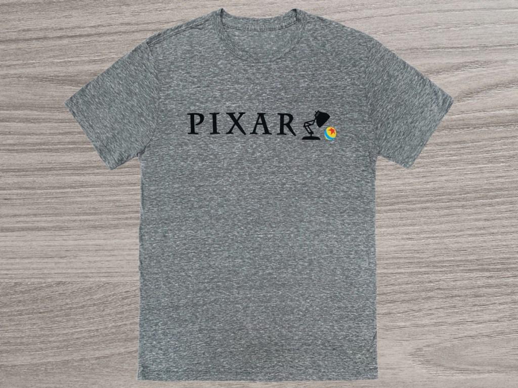 gray PIXAR tee