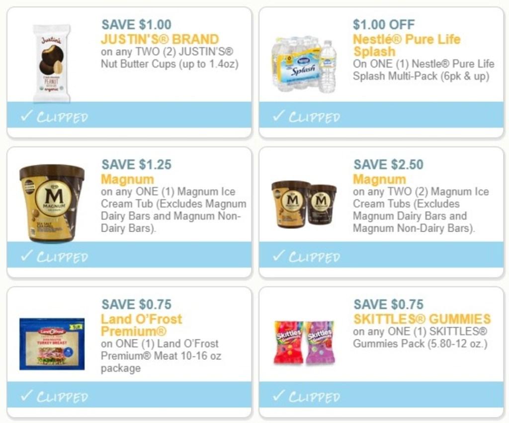 6 printable coupons