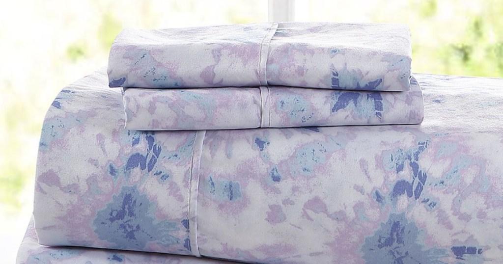 purple tie dye sheets